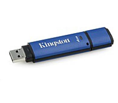 Kingston 4GB DataTraveler Vault Privacy 3.0 (USB 3.0) - bez antiviru - rozbalené + DOPRAVA ZDARMA