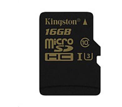 Kingston 16GB Micro SecureDigital (SDHC) Card Gold