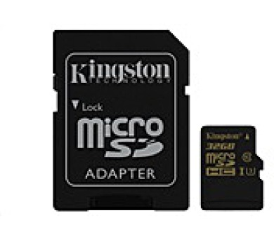 Kingston 32GB Micro SecureDigital (SDHC) Card Gold