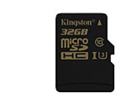Kingston 32GB Micro SecureDigital (SDHC) Card Gold + DOPRAVA ZDARMA