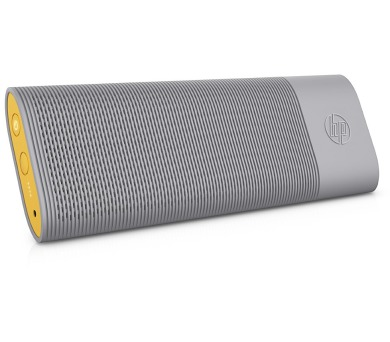 HP Roar Travel BT Speaker - grey/yellow - REPRO