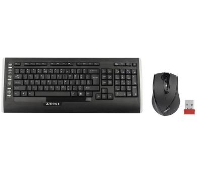 A4tech 9300F set bezdr. kláv. + bezdr. V-Track optická myš,CZ/US