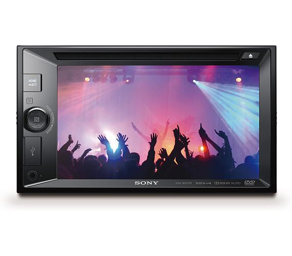 Sony autorádio XAV-651BT dot.display BT/NFC,CD/DVD (XAVW651BT.EUR) + DOPRAVA ZDARMA