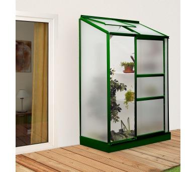 Skleník Lanit Plast VITAVIA IDA 900 matné sklo 4 mm zelený + DOPRAVA ZDARMA