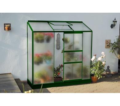 Skleník Lanit Plast VITAVIA IDA 1300 matné sklo 4 mm zelený + DOPRAVA ZDARMA