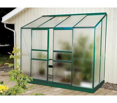 Skleník Lanit Plast VITAVIA IDA 3300 matné sklo 4 mm zelený + DOPRAVA ZDARMA