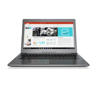 Lenovo IdeaPad 510 15.6 FHD IPS AG/I7-7500U/2TB/8G/GF 940 4G/DVD/W10 stříbrný