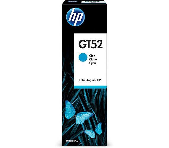 HP GT52 - azurová lahvička s inkoustem (M0H54AE)