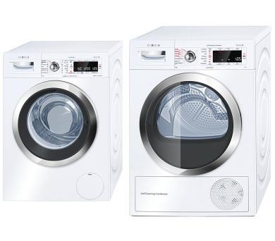 Bosch WAW32640EU + Sušička prádla Bosch WTW85530BY + 100 dní možnost vrácení*