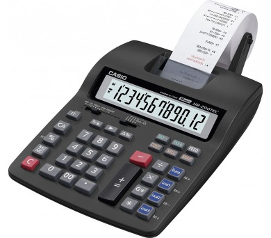 Casio HR 200 TEC s tiskem + DOPRAVA ZDARMA
