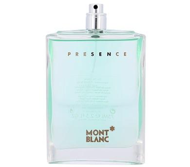 Toaletní voda Mont Blanc Presence + DOPRAVA ZDARMA