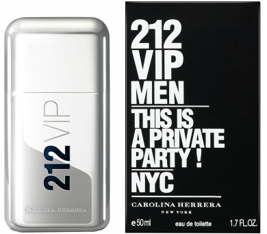 Toaletní voda Carolina Herrera 212 VIP Men