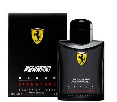 Ferrari Scuderia Ferrari Black Signature