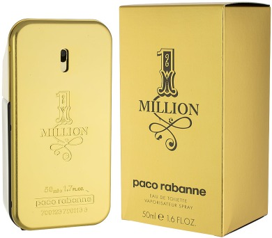 Toaletní voda Paco Rabanne 1 Million
