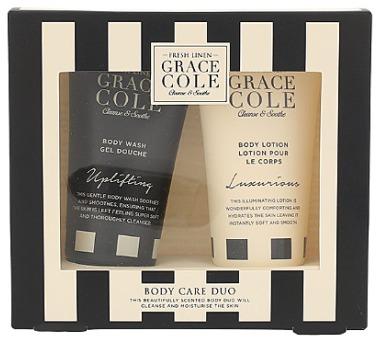 Tělové mléko Grace Cole Fresh Linen Body Care Duo Kit