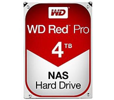 WD RED Pro NAS WD4002FFWX 4TB SATAIII/600 128MB cache + DOPRAVA ZDARMA