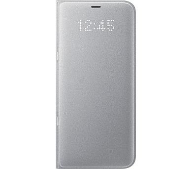 Samsung LED flipové pouzdro EF-NG955PSE pro Galaxy S8+ Silver + DOPRAVA ZDARMA