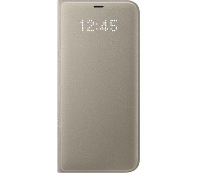 Samsung LED flipové pouzdro EF-NG955PFE pro Galaxy S8+ Gold + DOPRAVA ZDARMA