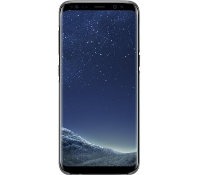Samsung zadní kryt Clear Cover EF-QG955CBE pro Galaxy S8+ Black