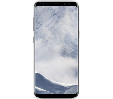 Samsung zadní kryt Clear Cover EF-QG955CSE pro Galaxy S8+ Silver