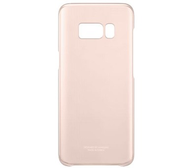 Samsung zadní kryt Clear Cover EF-QG955CPE pro Galaxy S8+ Pink