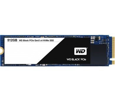 WD BLACK SSD WDS512G1X0C 512GB PCI E GEN 3
