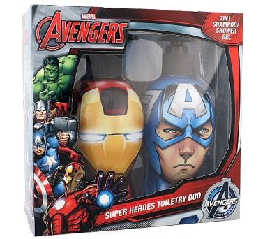 Marvel Avengers Iron Man & Captain America