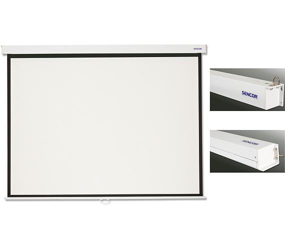 SMS N305H projekční plátno man Sencor + DOPRAVA ZDARMA
