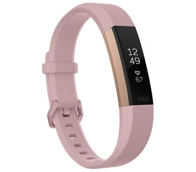 Fitbit Alta HR Pink Rose Gold (vel. L) Fitness náramek