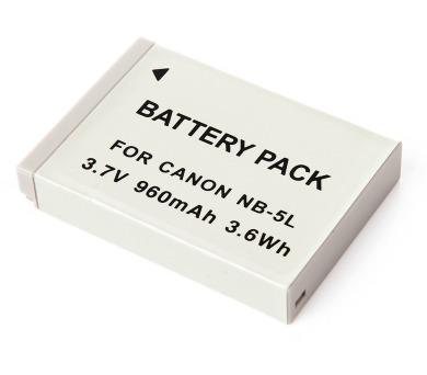 MadMan Baterie pro Canon NB-5L 960mAh neoriginální (MDMBATNB5L)