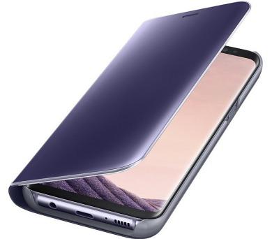 Samsung Clear View pouzdro EF-ZG950CVE pro Galaxy S8 Violet + DOPRAVA ZDARMA