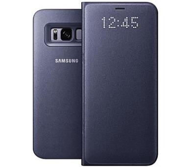 Samsung LED flipové pouzdro EF-NG950PVE pro Galaxy S8 Violet + DOPRAVA ZDARMA