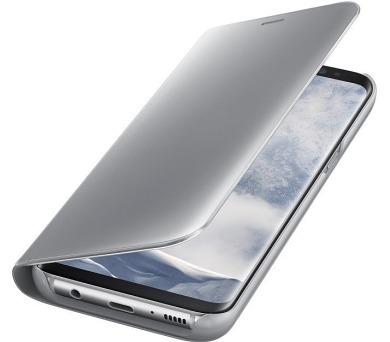 Samsung Clear View pouzdro EF-ZG955CSE pro Galaxy S8+ Silver + DOPRAVA ZDARMA