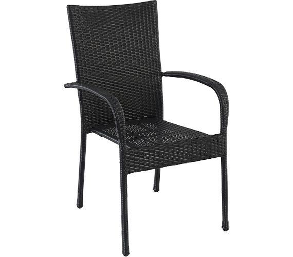 Creador Amélie stohovatelná židle z tahokovu/ratanu