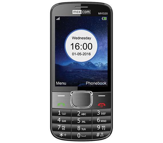 MAXCOM Classic MM320 SS gsm tel. Black