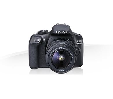 Canon EOS 1300D+1855+75300 + 8GB karta + brašna