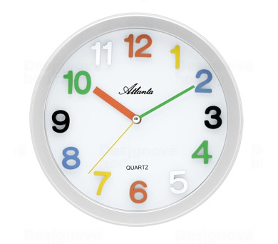 Dětské nástěnné hodiny AT4352