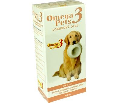 Omega3 pets Lososový olej sol 125 ml