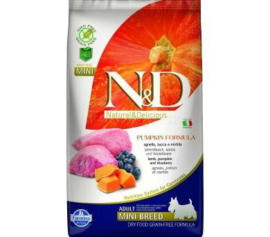 N&D Grain Free Dog Adult Mini Pumpkin Lamb & Blueb 2,5 kg