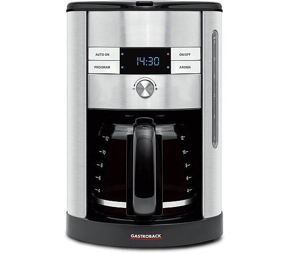 Gastroback 42704-Designový kávovar + DOPRAVA ZDARMA