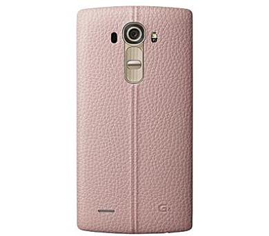 LG Kožený zadní kryt CPR-110 pro LG G4 Pink + DOPRAVA ZDARMA