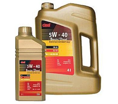 Cinol 5W-40 Benzin/Diesel - 10L + DOPRAVA ZDARMA