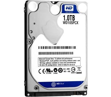 WD SCORPIO BLUE WD10SPCX 1TB SATA/600 16MB cache + DOPRAVA ZDARMA