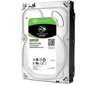 "Seagate BarraCuda 3.5"" HDD"