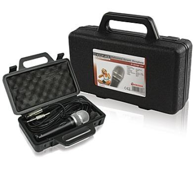 König KN-MIC50C - dynamický mikrofon s pouzdrem + DOPRAVA ZDARMA