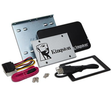 Kingston Flash 120GB SSDNow UV400 SATA 3 2.5 (7mm height) Upgrade Bundle Kit