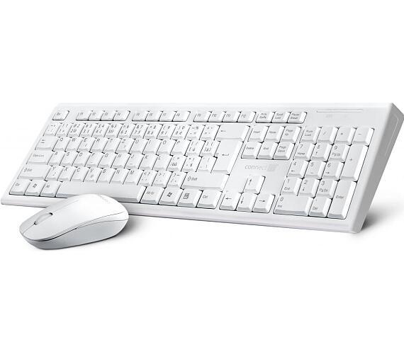 CONNECT IT Combo bezdrátová bílá klávesnice + myš
