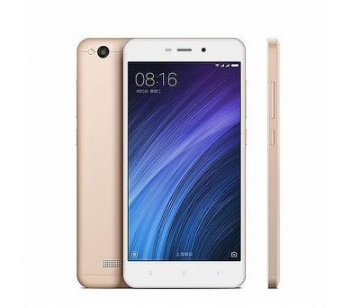 Xiaomi Redmi 4A CZ LTE Gold/ 5´´ HD 1280x720/1,4GHz QC/2GB/32GB/SD/2xSIM/13MPx/3120mAh + DOPRAVA ZDARMA