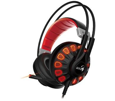 GENIUS GX GAMING headset - USB sluchátka s mikrofonem HS-G680/ 7.1 virtuální + DOPRAVA ZDARMA