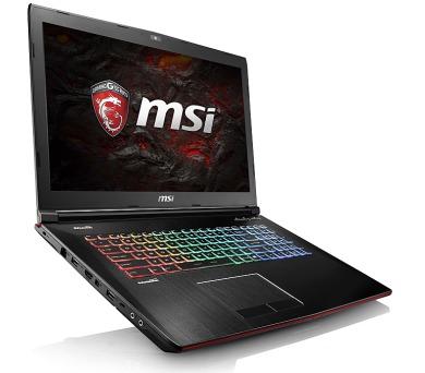 "MSI GE72 7RE-045CZ Apache Pro/i7-7700HQ Kabylake/16GB/256GB SSD + 1TB HDD 7200/DVDRW/ GTX 1050Ti 4GB/17,3""FHD/Win10"